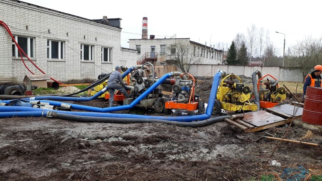 Перехват и отвод в сторону воды, 3000 куб/час