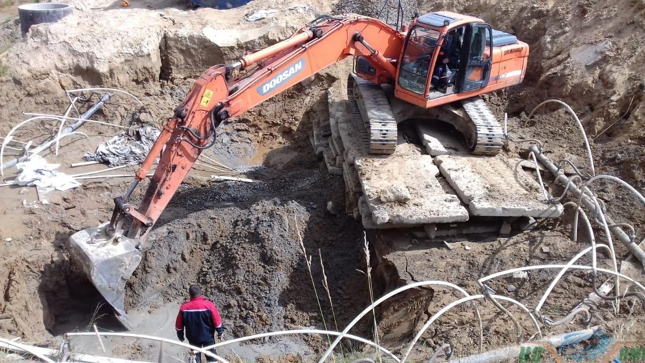 Осушение грунта под разработку котлована для ООО «ЛенМонтажСтрой78»