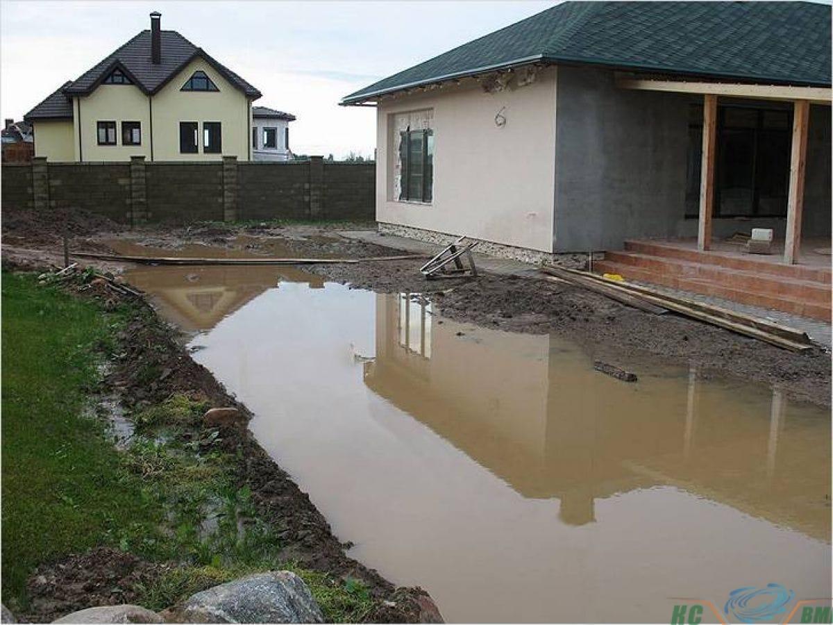 Уровень грунтовых вод на участке