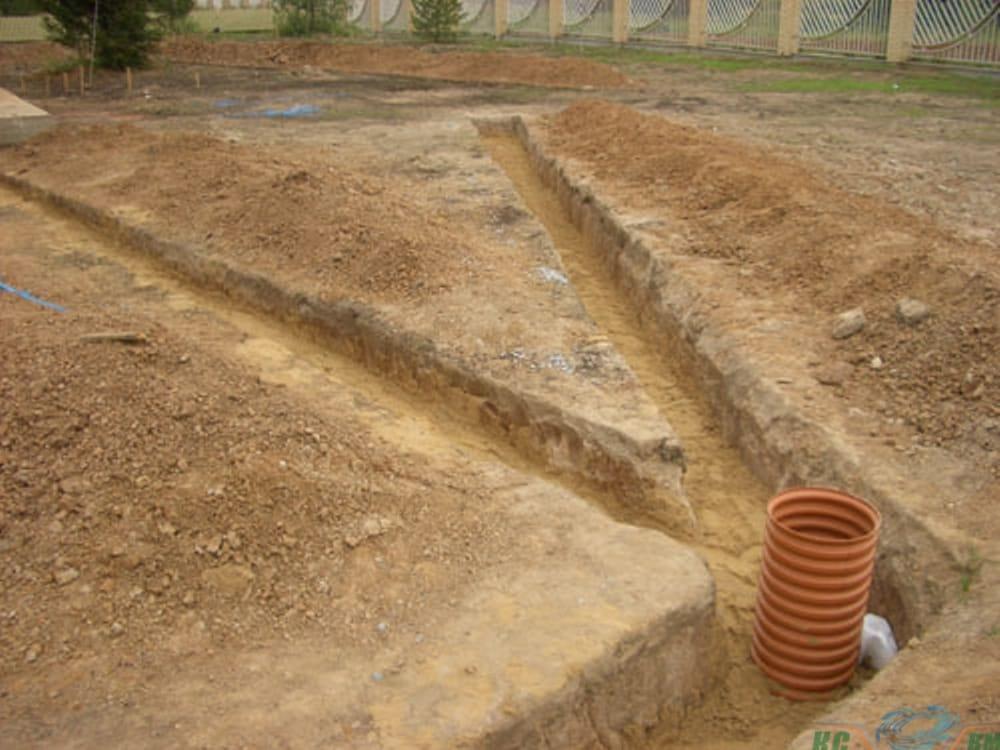 Как избавиться от грунтовых вод на участке?