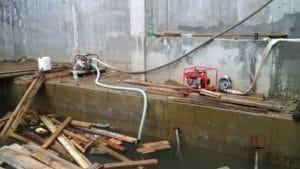 Водопонижение грунтовых вод на строительных площадках