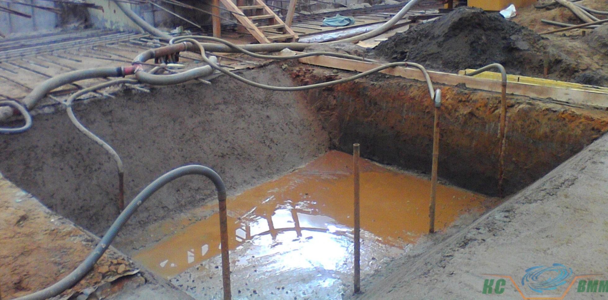 зумпф открытого водоотлива что это в строительстве