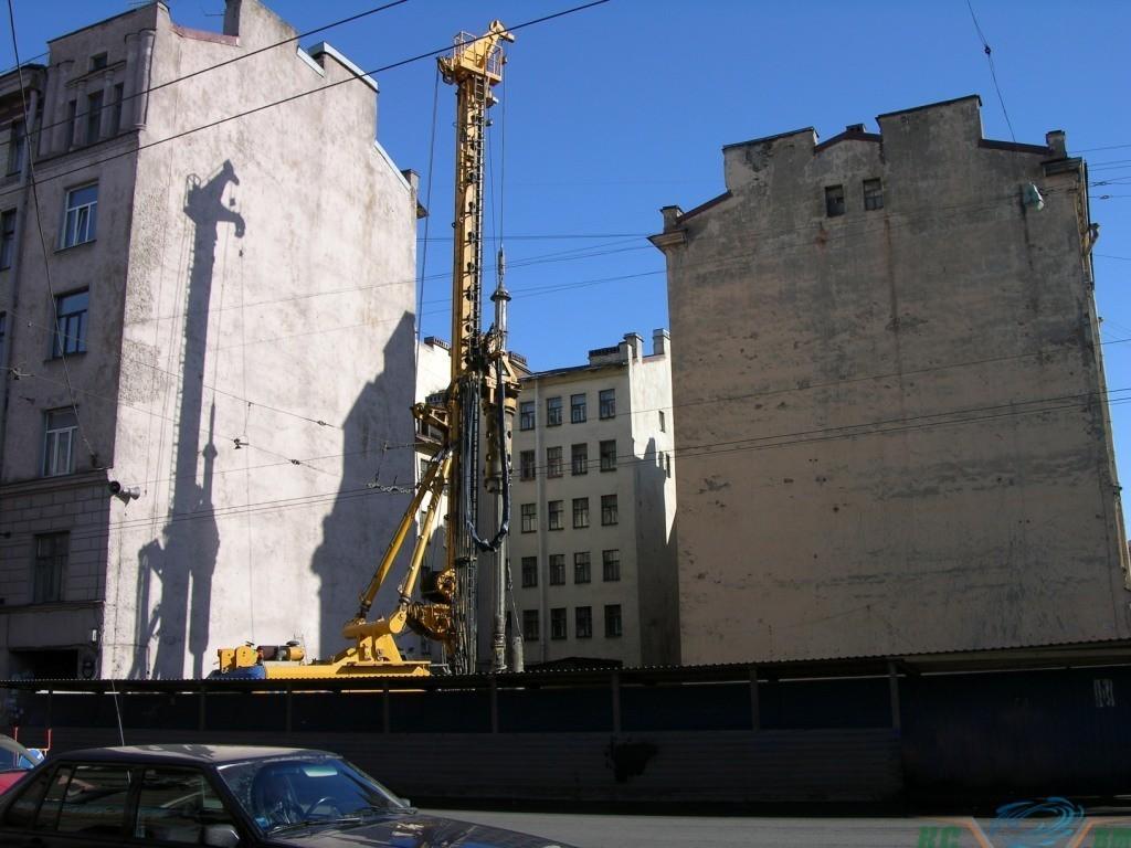 строительство в плотной городской застройки