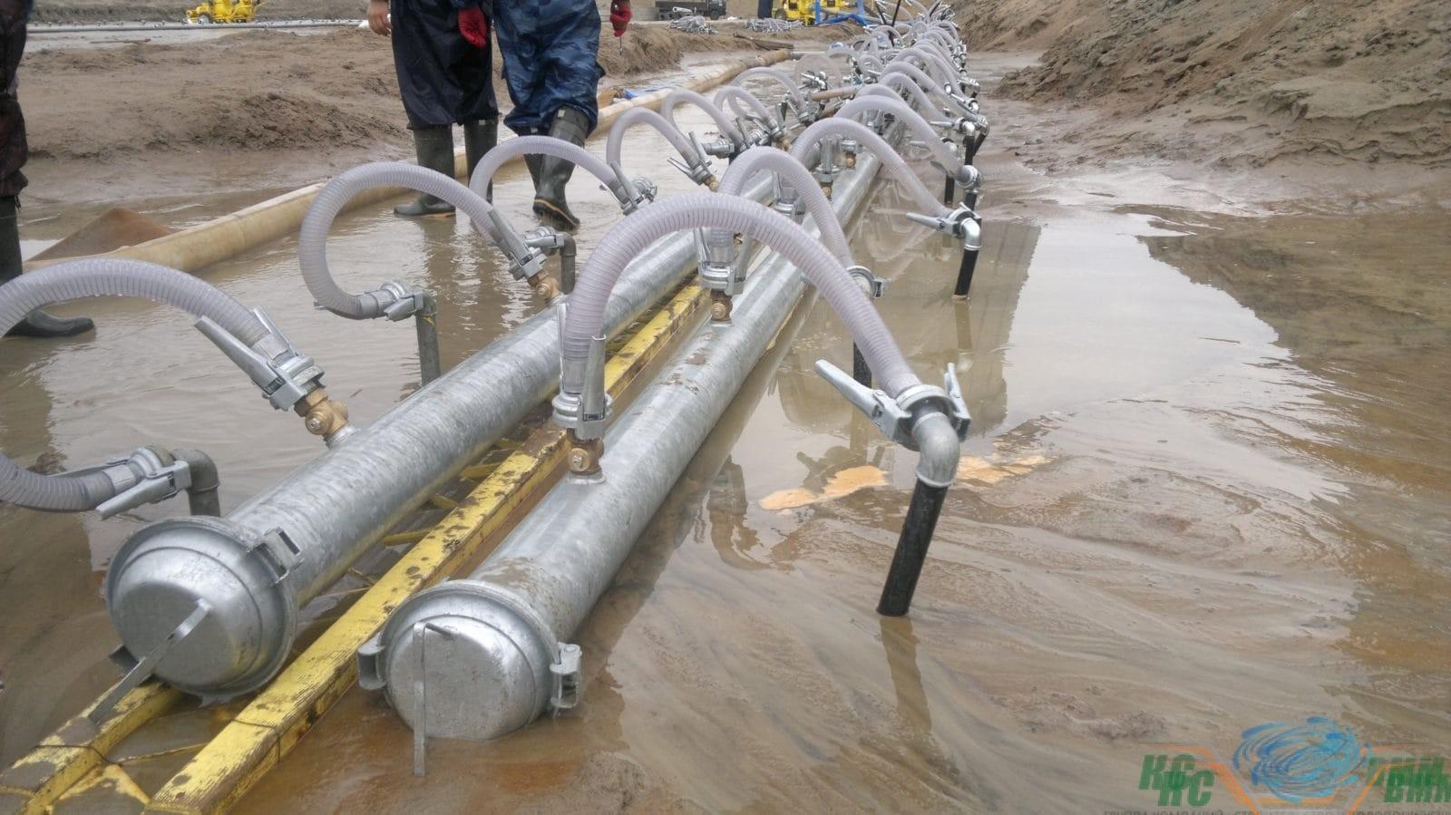 мероприятия по водопонижению на период строительства