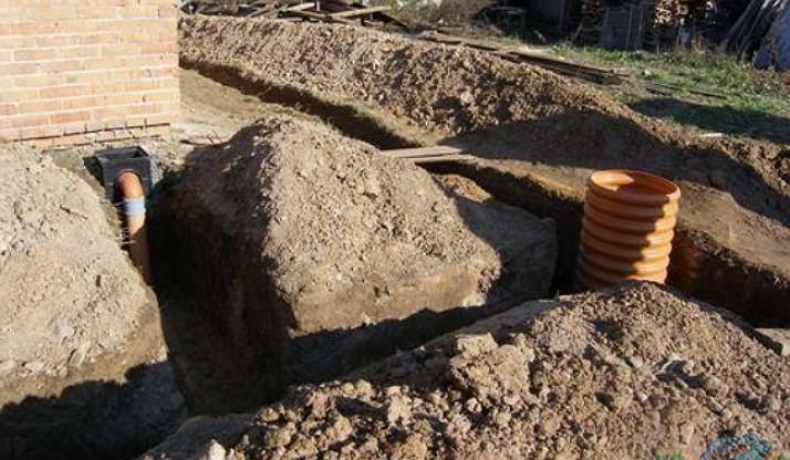 отвод грунтовых вод от фундамента дома
